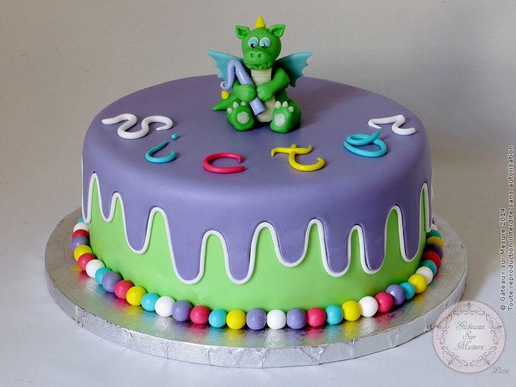 Exposition Cake Design : Gateau avec un petit dragon Gateaux sur Mesure Paris ...