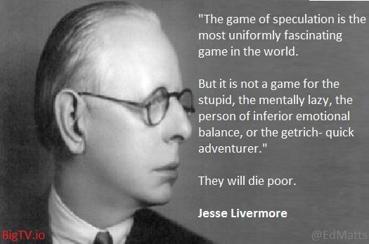 Jesse Livermore Game of Speculation