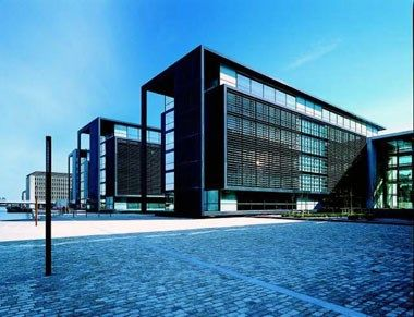 EU Mies Award 2001 Finalist :: Unibank Headquarters > Henning Larsen Architects > Copenhagen, Denmark