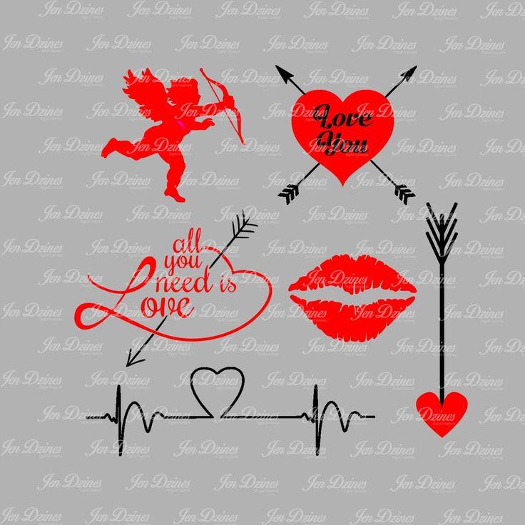 valentine heart eps