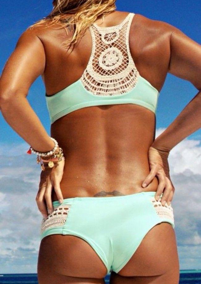 summer outfits, crochet, jewels, bikini, swimwear, jewelry, style, cute, spring break