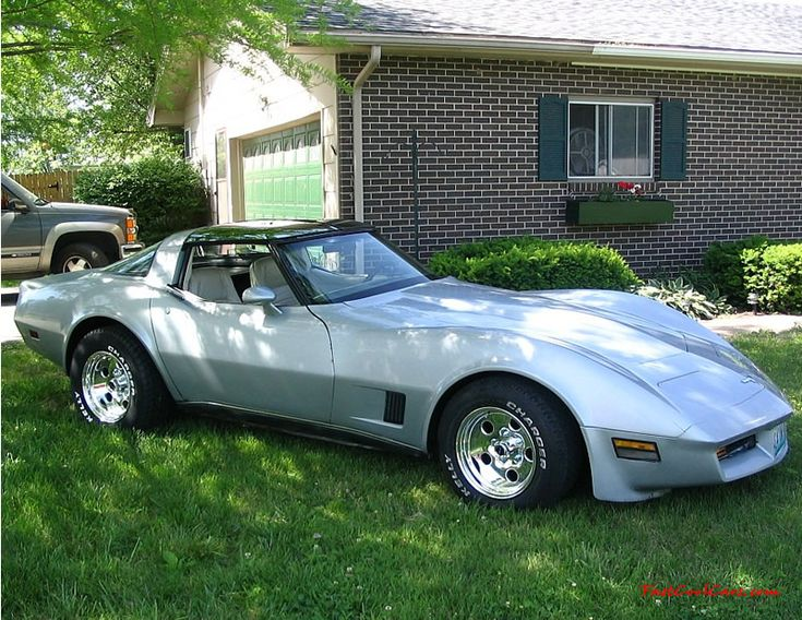 1980 Corvette. My mom's ride when I was in high school. Sorry for totaling it.