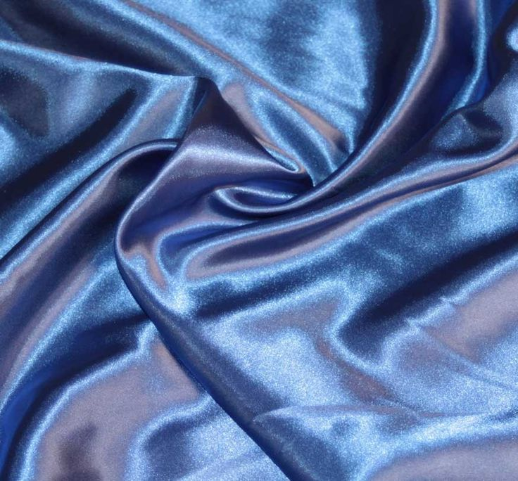 Satin - a basic weave. Produces a fabric that is smooth and glossy on one side and dull on the other. Typically made with silk. Was first developed in China centuries ago.