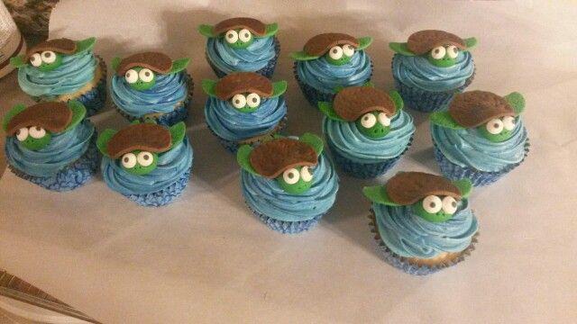 Sea Turtle Cupcakes Kimmy Ann S Sweet Treats Pinterest