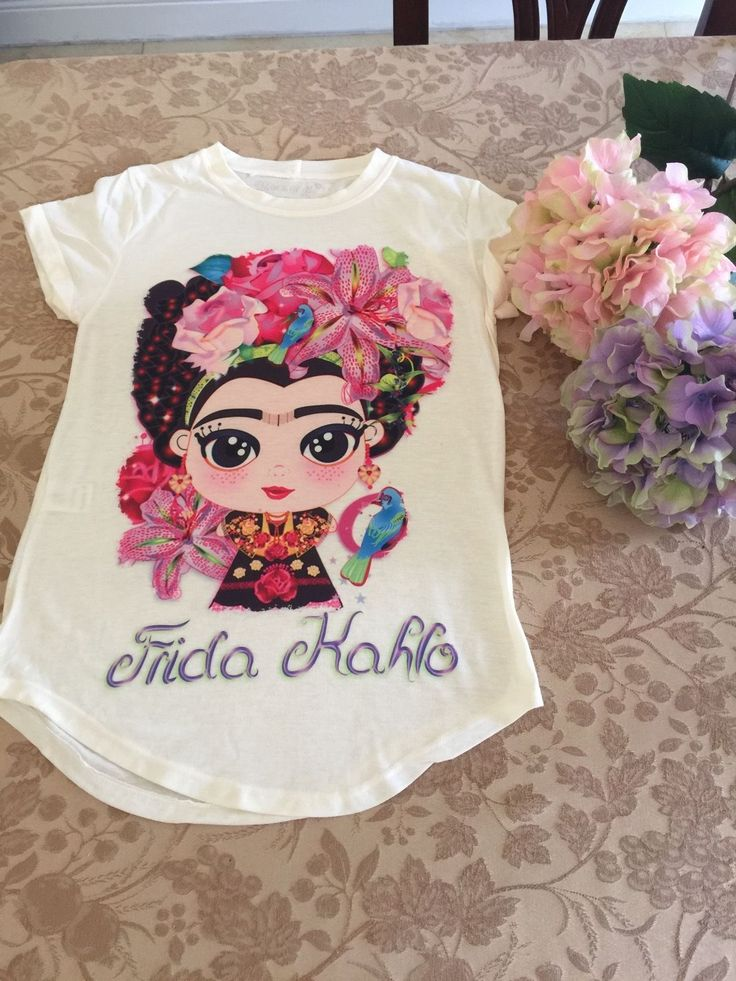 Fashion Shirts Frida Kahlo | eBay