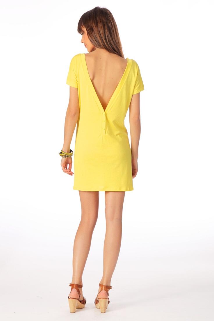 Les 25 meilleures id es de la cat gorie robes de cocktail for Robe jaune pour mariage