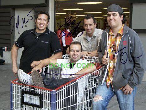 Impractical Jokers cast reprint signed autographed photo #5 Sal, Murr, Joe, Q TruTv, 2016 Amazon Top Rated Photographs  #Collectibles