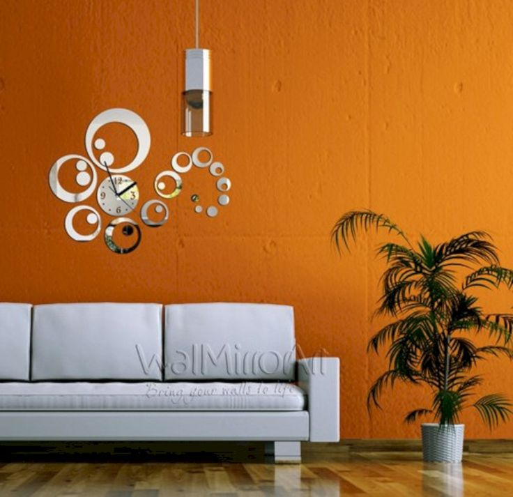 Fantastic Wall Decorating Ideas For Living Rooms To Try: 35+ Beautiful Living Room Wall Decor With Clocks Ideas