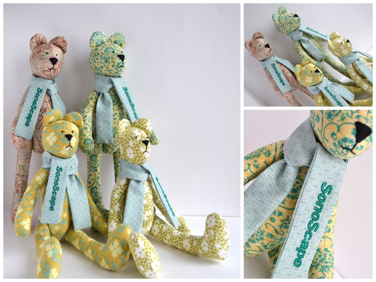 Teddies for SonoScape - gifts for chinese partners of company