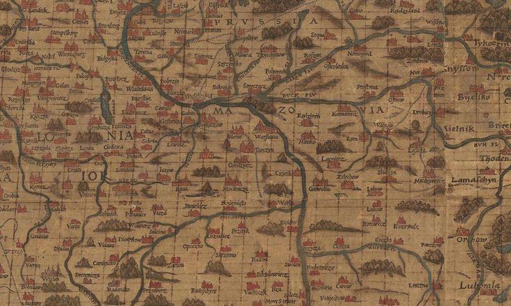 Niezwykła Stara Mapa Polski z 1570 Roku - Eloblog