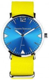 Bruno Banani Cool Color Edition Uhr BR30067 - gelb/hellblau