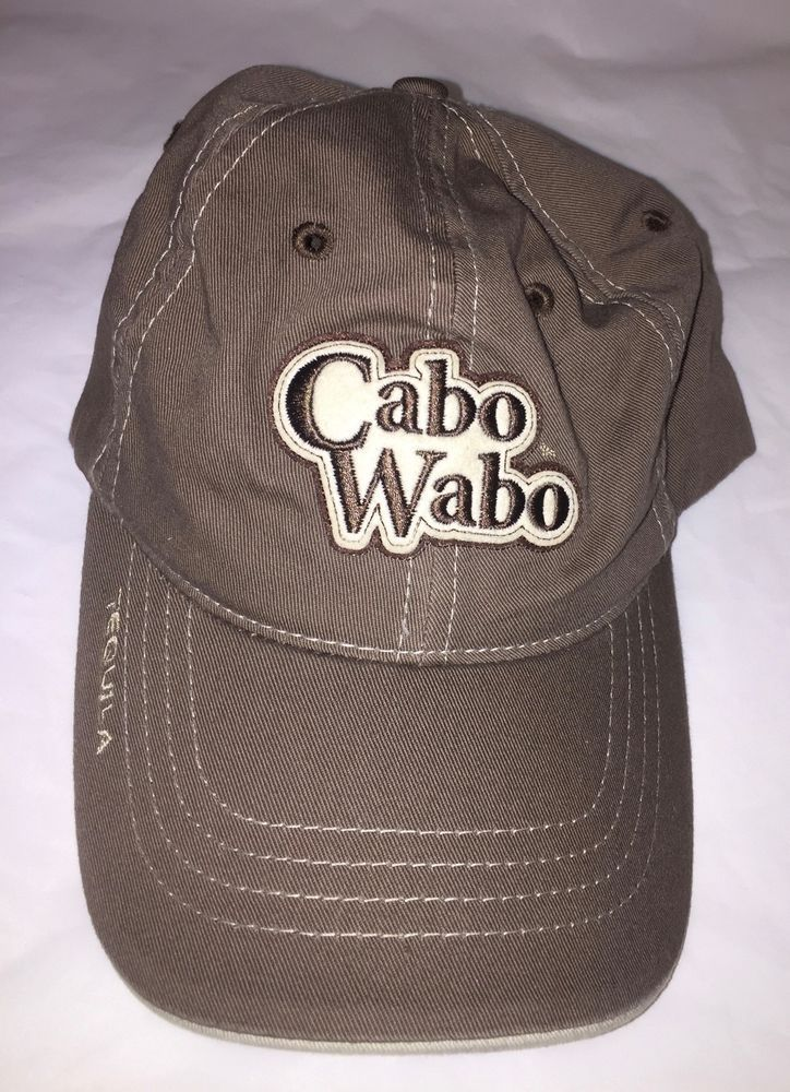 018124bdd33 Cabo Wabo Tequila Cabo San Lucas Hat baseball Cap strapback adjustable   fashion  clothing  shoes  accessories  mensaccessories  hats (ebay link)