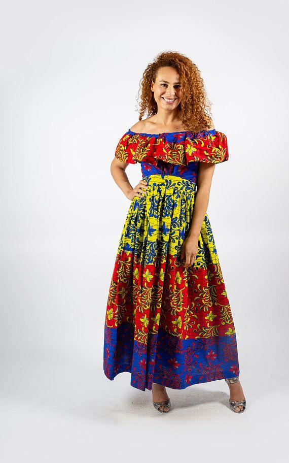 Stylish African Print Dress | AFRICAN CLOTHING | Ankara