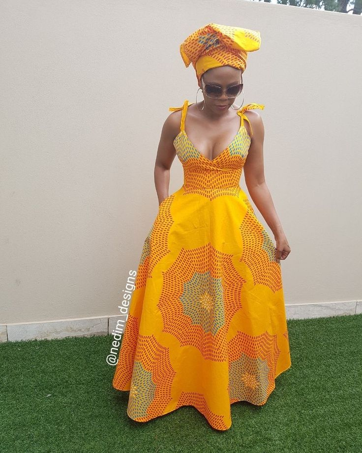 Ankata African Print Summer Maxi Dresses @Nedim_designs