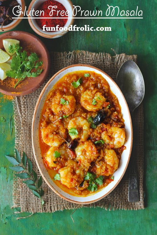 If you love little spiced up flavors then you'll surely get mad over the Prawn Masala. Serve it with a crispy, flaky whole wheat paratha and you are all set for a gratifying meal. funfoodfrolic.com