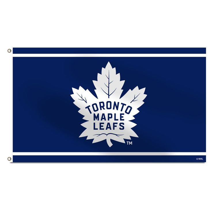 Toronto Maple Leafs New Logo 3'x5' Banner Flag - shop.realsports