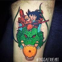 Goku Dragonball Z Tattoo - Alex Heart by helloalexheart on DeviantArt