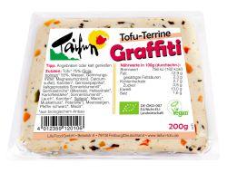 taifun tofu: tofu terrine graffiti