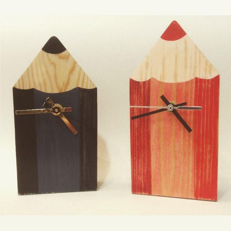 Small pencil clocks