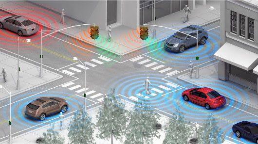 GM is developing a wireless system to detect pedestrians and cyclists using Wi-Fi Direct technology.