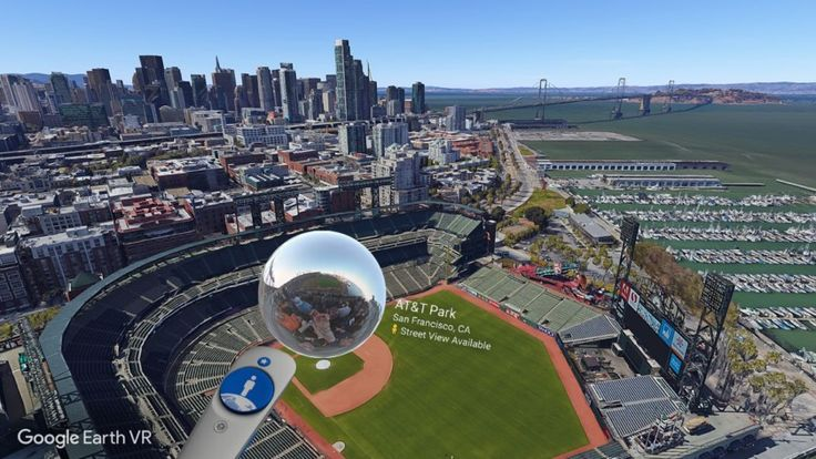 Google Earth VR adds Street View support for first-person tours