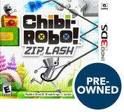 Chibi-Robo Zip Lash - PRE-Owned - Nintendo 3DS, Multi