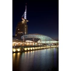 Hotel Atlantic Sail City, Klimahaus Bremen 8° Ost, Bremerhaven, Bremen, Fototapete Merian, Fotograf: G. Hänel