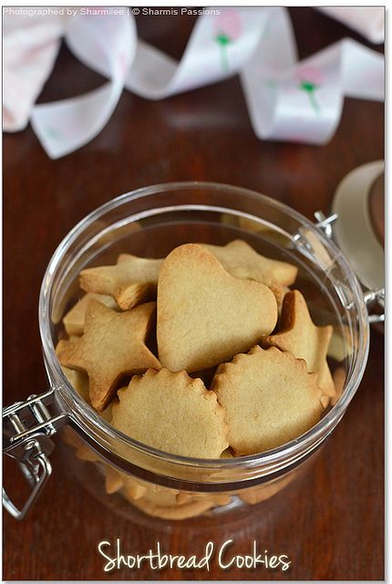 Shortbread Cookies Recipe | Easy Eggless Vanilla Cookies | Sharmis Passions