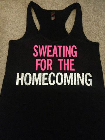 Sweating for the Homecoming - Ruffles with Love - Bow Tank