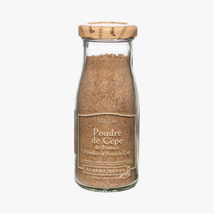 Ces cèpes, de la variété Boletus Edulis, originaires de la région Midi-Pyrénées, sont ramassés et triés à la main avant d'être transformés. Cette poudre préserve la saveur intense de ce champignon.