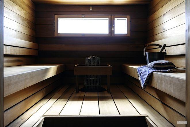 Modernisti kodikas - Sauna