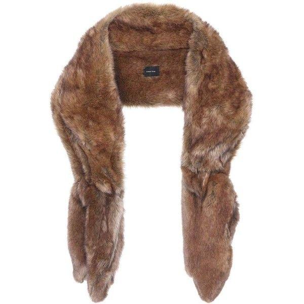 Best 25+ Fur Scarves Ideas On Pinterest