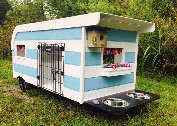 Canine Camper Large Cool Dog Houses Dog Houses Dog Trailer