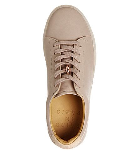 PAIRS IN PARIS No 1 Martel leather trainers