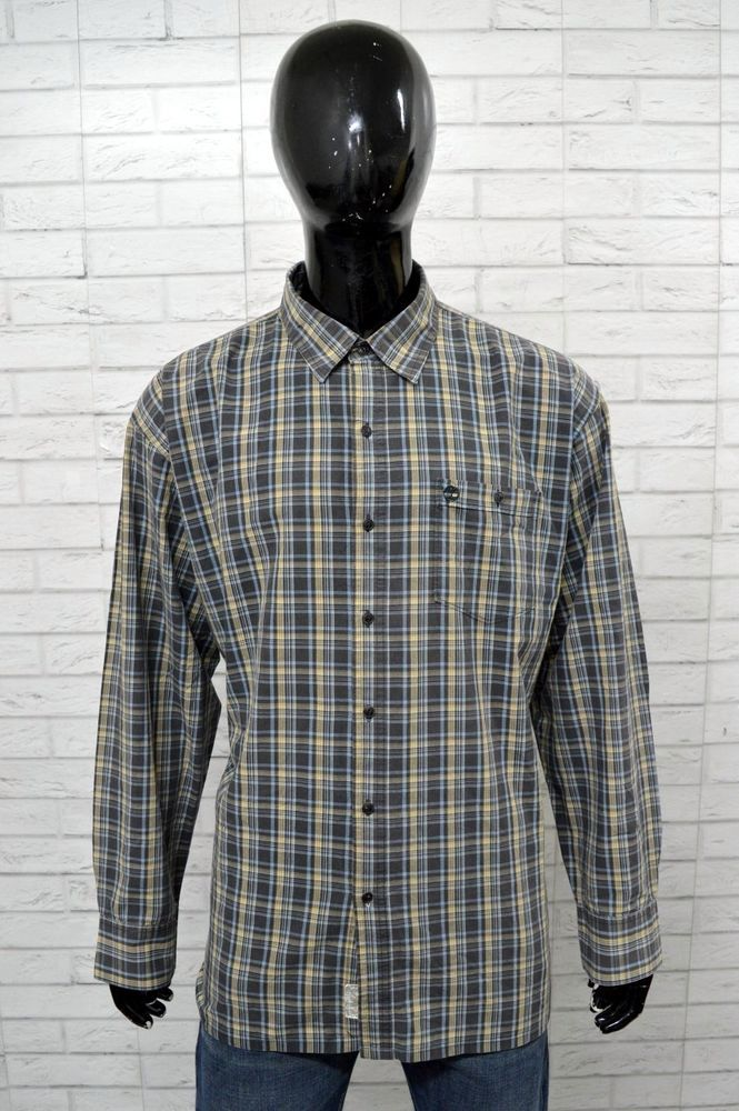 camicia timberland uomo xxl