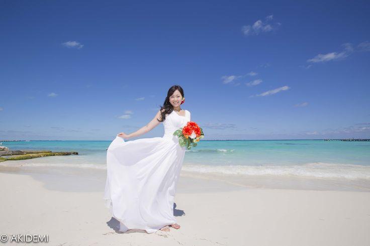Wedding photo_Fiesta Americana Coral Beach/ウエディングフォト_フィエスタ アメリカーナ コーラル ビーチ _AkiDemi Photography www.akidemi.com