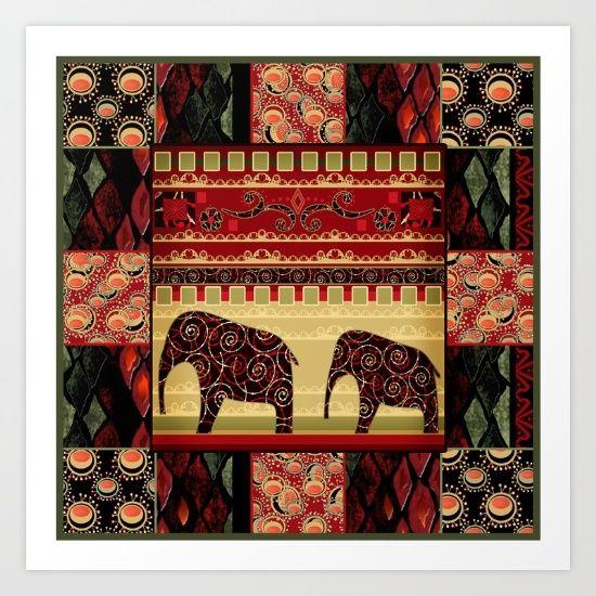 https://society6.com/product/african-motifs-u2f_print?curator=bestreeartdesigns.  $15.60
