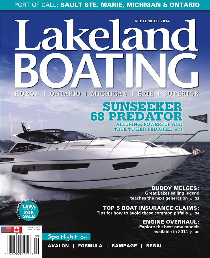 September 2014 Boat Insurance Boat Great Lakes