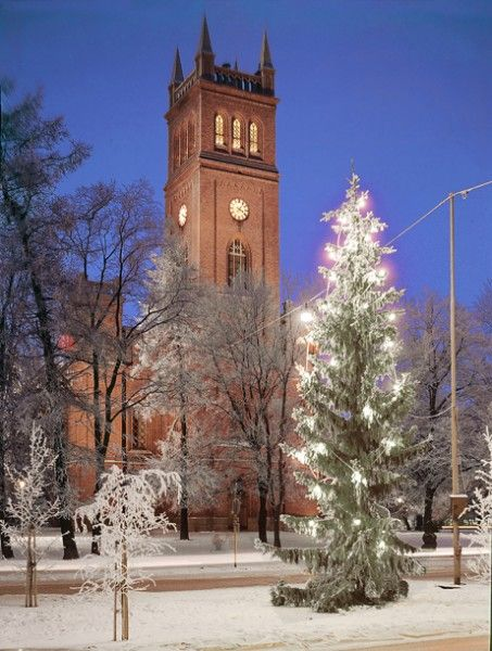 Have been singing and playing the violin at this Vaasa Church many times in my childhood.
