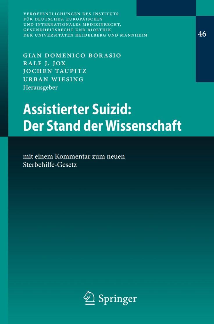 Assistierter Suizid: Der Stand der Wissenschaft (eBook) – VitalSource®