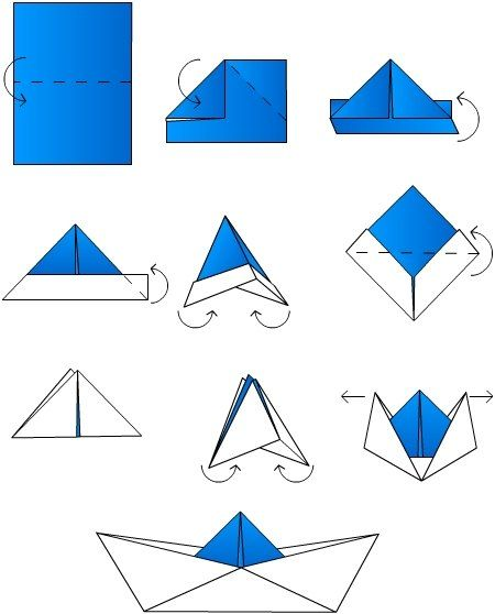 diy bateau origami                                                                                                                                                      Plus