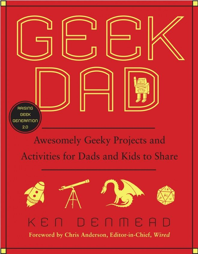 ideia de presente de Dia dos Pais - Geek Dad,  Find it here http://www.amazon.com/Geek-Dad-Awesomely-Projects-Activities/dp/B0043RT890/ref=sr_1_1?ie=UTF8=1339195322=8-1=geek+dad #Book #Geek_Dad #Ken_Denmead: Books, Awesome Geeky, Gifts Ideas, Ken Denmead, Kids, Activities, Geekdad, Geek Dads, Geeky Projects