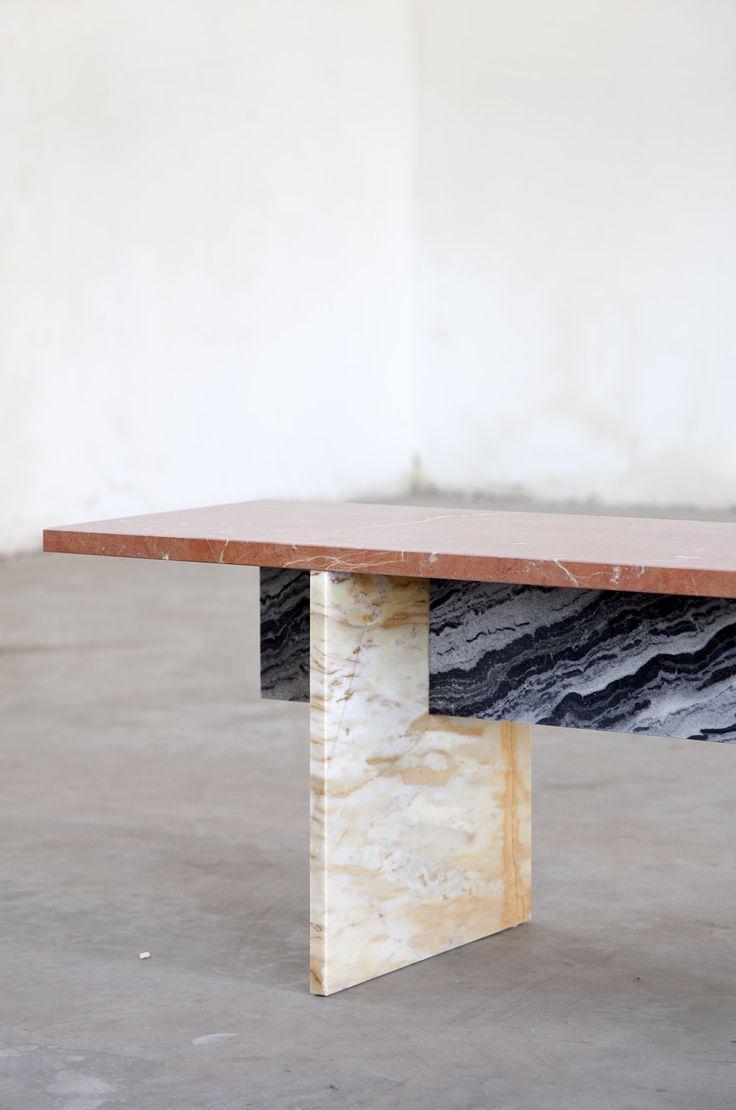 Muller Van Severe marble bench by Muller Van Severen and Fien Muller — Thisispaper