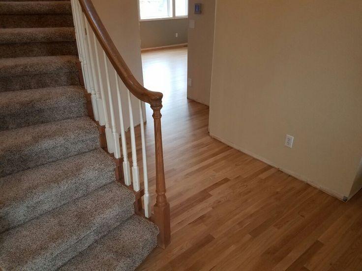 White Oak Hardwood. Installed Sanded, Sealed & Finished by: Mid Valley Hardwood LLC. Battle Ground, Wa 98604.  ( Sealer used: Bona IntenseSeal ) ( Finish used: Bona Traffic )