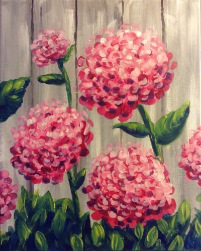 Hey, Hey, Hydrangeas Painting