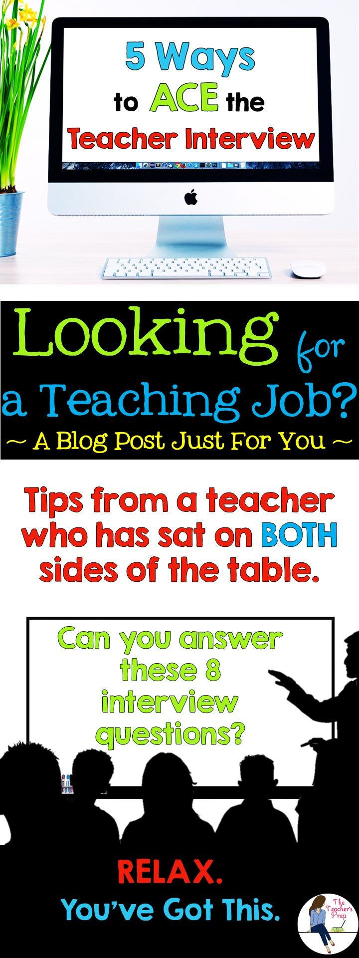 17 best ideas about school interview questions blog post teacher interviews don t have to be scary get ready
