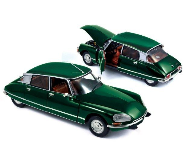 Currently at our Catawiki auctions: Norev - Scale 1/18 - Citroen DS 23 Pallas 1972
