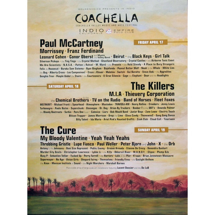 print: Coachella Fest 2009
