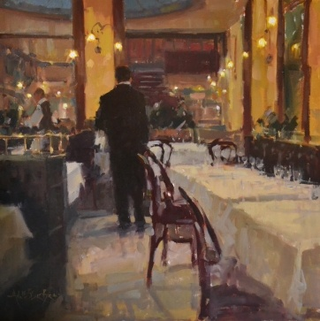 Maitre d'Hotel by Anne Blair Brown