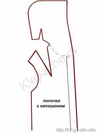 Выкройка Куртки С Капюшоном И Воротником Стойкой